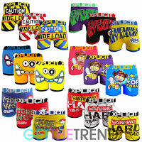 Mens Boxer Shorts Xplicit Funny Rude Novelty Cartoon Printed Trunks Underwears