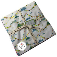 """Clothworks, You Me And The Trees, 10"""" Fabric Quilting Squares, Layer Cake"""