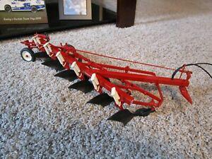 JI Case IH Farmall International Farm Toy Custom 1 Off Tillage Plow Rare 6B