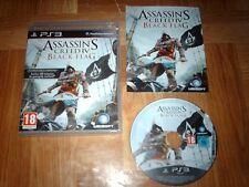 ASSASSIN'S CREED 4...BLACK FLAG...jeu complet...sur PS3