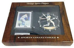 Vintage Sports Plaques Clock Derek Jeter 1998 Donruss Elite Generations Card NIP