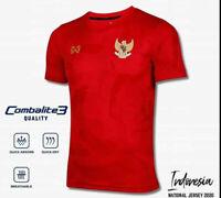 100% Original 2020 Indonesia National Football Soccer Team Jersey Shirt Red