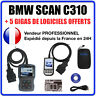 Valise Appareil Diagnostique Pro BMW & MINI En Français Obd2 Diagnostic BMW C310