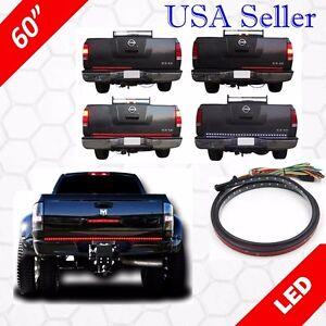 "60"" UNIVERSAL LED TailGate Light Bar Turn Signal+Brake+Reverse+TRUCK PICKUP SUV"
