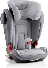 Britax Romer Kidfix 2 II Kids Car Seat Grey Marble Isofix Booster 15-36kg 2/3
