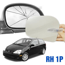 Replacement Side Mirror RH 1P + Adhesive for HONDA 2002-2005 Civic Hatchback