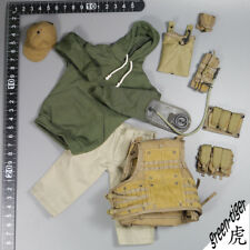 1:6 Scale ace Military action figure parts - AWS CQB Hoodie Baseball cap set