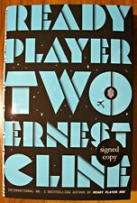 READY PLAYER TWO - Ernest Cline  - HAND SIGNED  1/1  UK Hardback