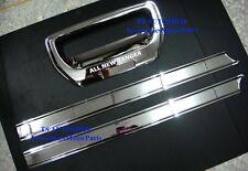 1 SET CHROME TAIL GATE HANDLE COVER TRIM COVER FOR NEW FORD RANGER XLT 2012 V.3