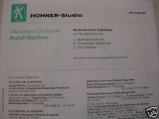 "HOHNER-7"" Akkordeon-Orchester Rudolf Würthner *3Track EP*NM*"