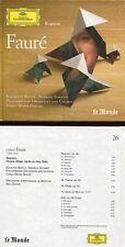 "Gabriel FAURE ""Requiem"" (CD Digipack) 1987 -NEW / NEUF-"