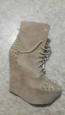 Sexy Womens Boots with Studs Size 7
