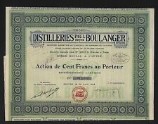 DISTILLERIES Paul BOULANGER (PANTIN) (B)