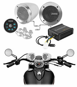 Memphis Bluetooth Motorcycle Speakers Audio System For Royal Enfield Himalayan