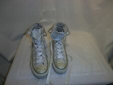 CONVERSE ALL STAR WHITE LADIES HI TOP TRAINERS SIZE UK 5 ref feb02