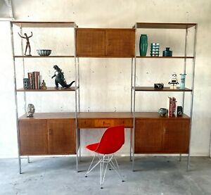 Mid Century Modern Founders Floating Wall Unit Room Divider