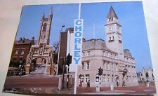England Chorley St Mary Church and Town Hall G A Birtill - unposted