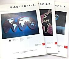 Lot Of 3 Masterfile Stock Photography Library Book Catalog Vol.12-Vol.16-Vol.18