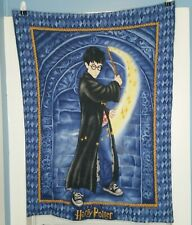 Harry Potter Fabric Panel Tapestry Wall Hanging Blue Finished Blanket Decor 2001