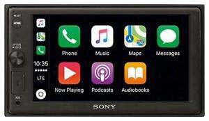 Sony XAV-AX1000 Doppel-DIN MP3-Autoradio Touchscreen Bluetooth CarPlay USB