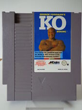 NES Spiel - George Foreman´s KO Boxing (PAL-B) (Modul)