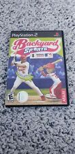 Backyard Sports: Baseball 2007 (Sony PlayStation 2, 2006) with manual