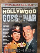 HOLLYWOOD GOES TO WAR DVD 8 Documentaries on 2 DVDs WWII Collectors Edition NEW