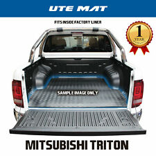 Mitsubishi Triton MQ MR Dual Cab Ute Mat