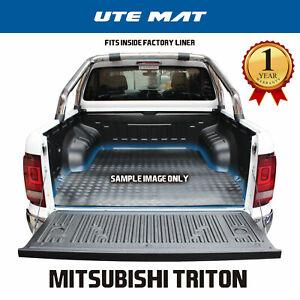 Mitsubishi Triton MQ MR Dual Cab Rubber Ute Mat