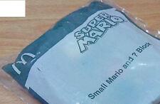 Super Mario SMALL MARIO AND ? BLOCK McDonald Happy Meal Toys 2016 unopened new