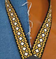 CROSSROADS Vintage Cotton USA made A & F-style TROPHY Mandolin Strap