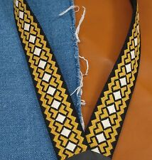 CROSSROADS Vintage Cotton USA made A & F-style TROPHY Mandolin Strap