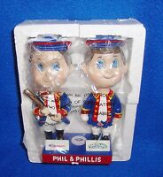 Phil & Phillis SGA Bobble Head MIB Philadelphia Phillies