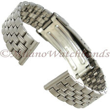 16mm Titanium With Carbide Finish Stainless steel Buckle Back Ladies Band 1011