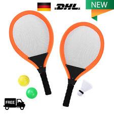 Kinder Tennisschläger Badminton Set Schläger mit Tasche & Bälle Tennis Spiele