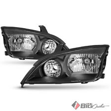 For 05-07 Focus Black Housing Headlights Assembly Replacement LH+RH