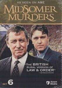 Midsomer Murders Set 6 (DVD, Acorn Media) John Nettles, Kenneth Colley - NEW