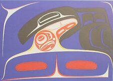 Robert Davidson Original Poster First Nation Raven Bringing Light 1980's