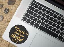 Motivational Quote Decal, mac laptop stickers, sport motivation, car windows