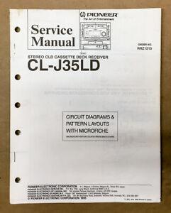 Pioneer CL-J35LD Receiver Service Manual *Original*