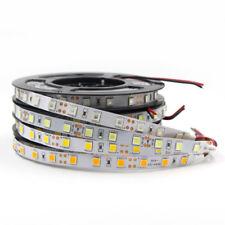5m Impermeable 5050 5054 SMD LED Tira Luz Flexible Rgb Blanco Cinta 12V Coche Hogar