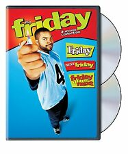 FRIDAY (Ice Cube) 1 2 & 3 Next After (3 movie set)  -  DVD - REGION 1 - SEALED