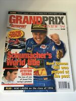 Autosport Grand Prix Review 1994 Michael Schumacher Magazine