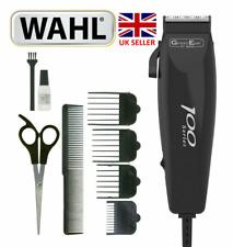 Wahl 100 Series-9 Piece Hair Cutting Kit Mains Clipper Trimmer- 79233-917