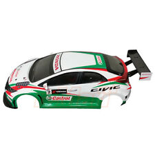3Racing 1:10 Honda Civic MK9 190mm Clear Body Set RC Cars Touring #LBD-CIVICMK9A