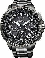 Citizen Mens CC9025-51E Promaster GPS F900 Satellite Wave Black Titanium watch.