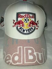 Adidas New York Red Bulls MLS Climalite Authentic Team Adjustable Mens Hat/Cap