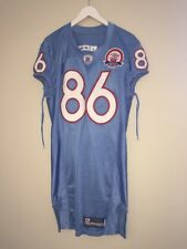 *GAME USED* 2009 Tennessee Titans Oilers Football Jersey NFL 50th Anniversary