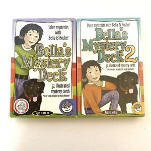 Lot Of Bella's Mystery Deck 1 & 2 by Mindware - Pack 2 Is Sealed