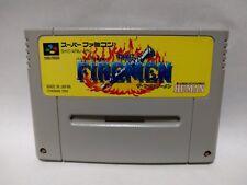 Super Famicom The Firemen Japan SFC SNES